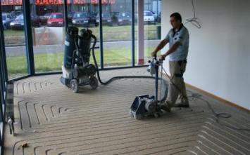 Vloerverwarming aanleggen.nl - vloerverwarmingsiergriend, Top vloerverwarming freest door siergrind heen.